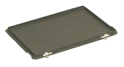 Hinged Lid M214A  Plastic lid to suit 400 x 300 boxes