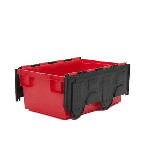 Attached-Lid Container Ref: PMN718 Size: L600 x W420 x H265mm