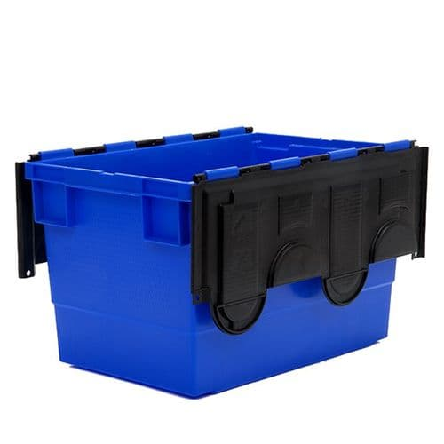 Attached-Lid Container Ref: PMN719 Size: L600 x W420 x H350mm