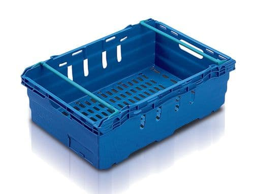 Supermarket Produce Tray SN641902  Ext dims: L600 x W400 x H199 mm