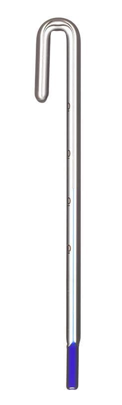 Blau Hang on Glass Thermometer 12mm