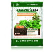 DENNERLE SCAPERS SOIL 1-4mm - 8L - BLACK