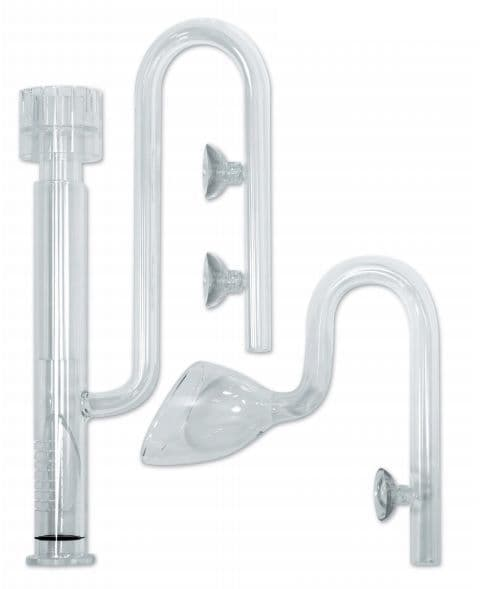 The Aquascaper Glass Pipework Set 12mm by EA