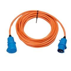 240v 16 amp 25 Metre Mains Extension Lead