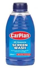 500ml concentrated screen wash