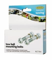 75mm High Tensile Tow Ball Mounting Bolts
