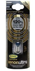 Xenon Ultima +120% H4 bulb set