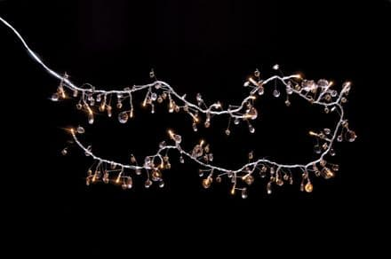 1.8m Bells and Crystals Lights