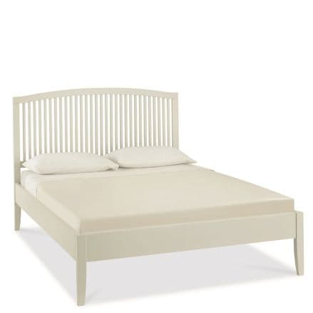 Ashby Cotton Painted King-Sized Bedstead