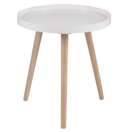 Blush Painted Side Table