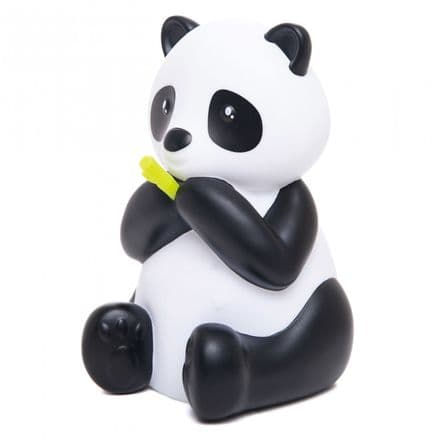 Dhink Medium Colour Changing LED Night Light | White & Black Panda With Green Bamboo Shoot