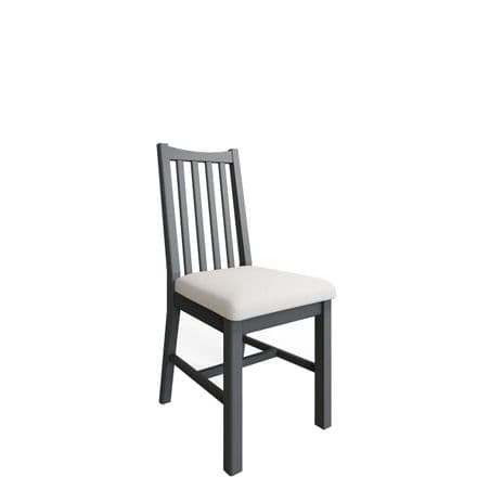 Geo Grey Painted Dining Chair