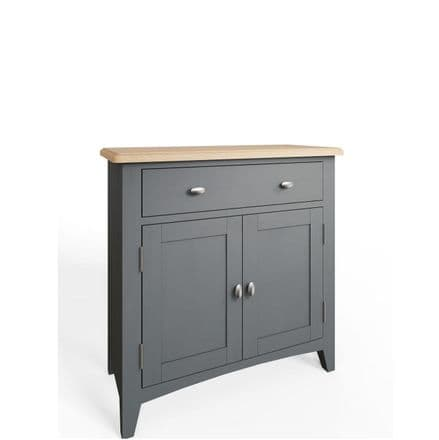 Geo Grey Painted Small Sideboard
