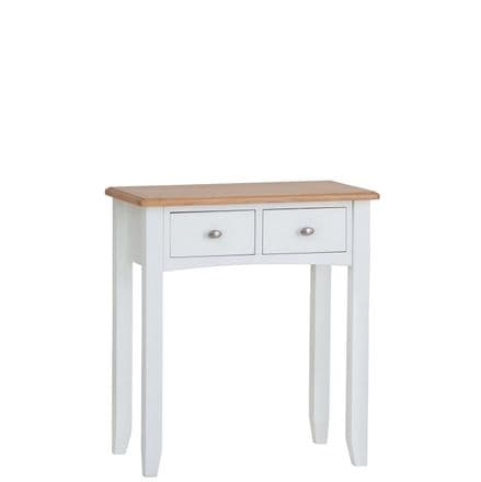 Geo White Painted Dressing Table