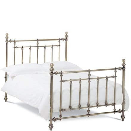 Imperial Antique Brass King-Sized Bedstead