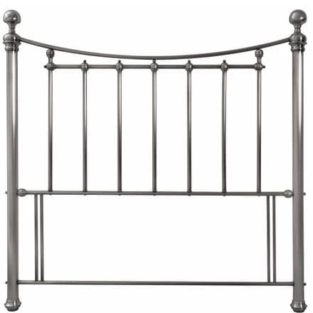 Isabelle Antique Nickel King-Sized Headboard
