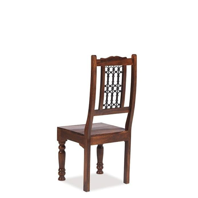 Jali Sheesham Wood Capsule Low Back Jali Chair