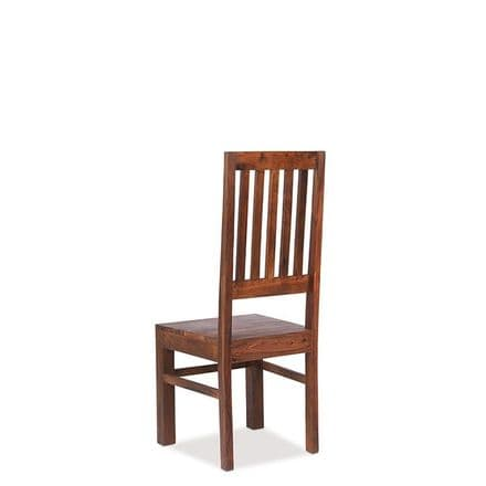 Jali Sheesham Wood High Back Slat Chair