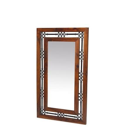 Jali Sheesham Wood Jali Mirror