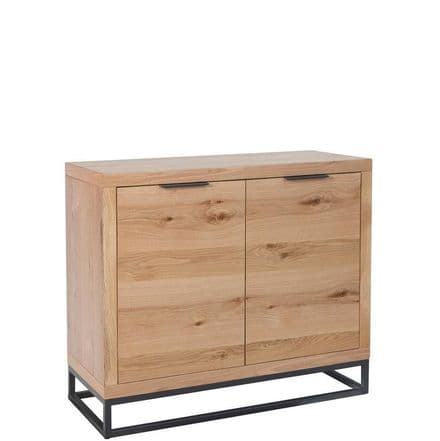 Loft Oak 2 Door Sideboard
