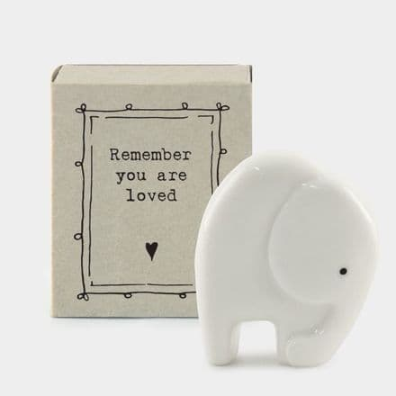 Matchbox Elephant - Remember you are loved