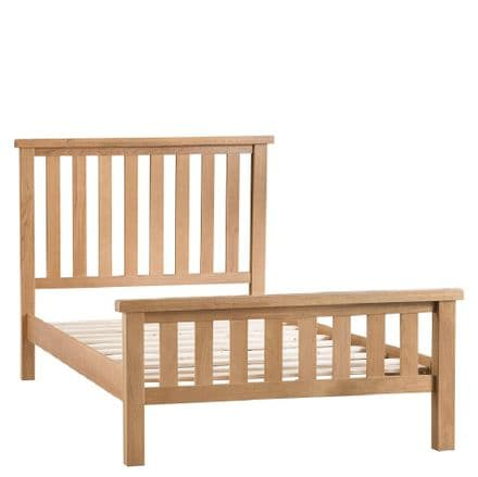 Oslo Oak Double Bed