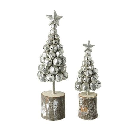 Silver Metal Bell Tree Large Only
