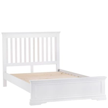 Stratford White Painted King Sized Bed