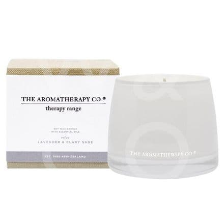 The Aromatherapy Company - 260g Candle - Lavender & Clary Sage