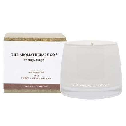 The Aromatherapy Company - 260g Candle - Sweet Lime & Mandarin