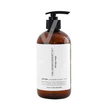 The Aromatherapy Company - 500ml Hand & Body Lotion - Lavender & Clary Sage