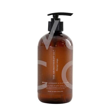 The Aromatherapy Company - 500ml Hand & Body Wash - Lavender & Clary Sage