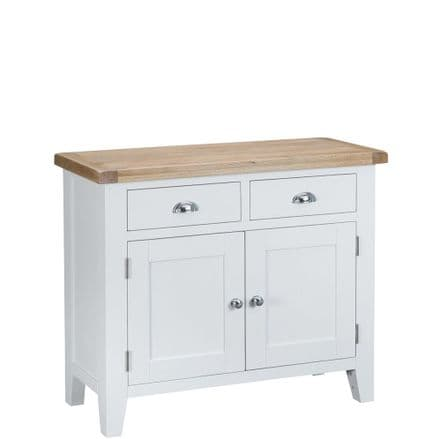 Toulouse White 2 Door 2 Drawer Sideboard