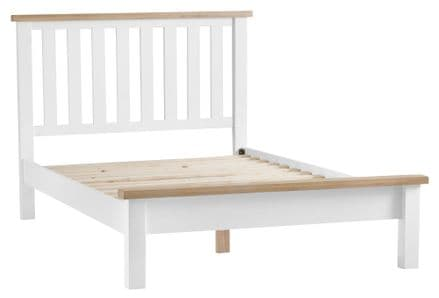 Toulouse White Painted 6'0 Bed