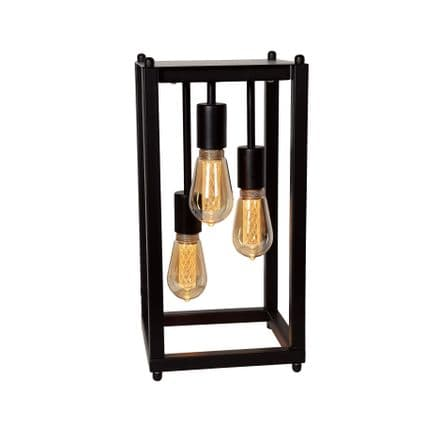 Triple Hanging Filament Table Lamp