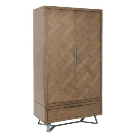 Urban Oak Double Wardrobe