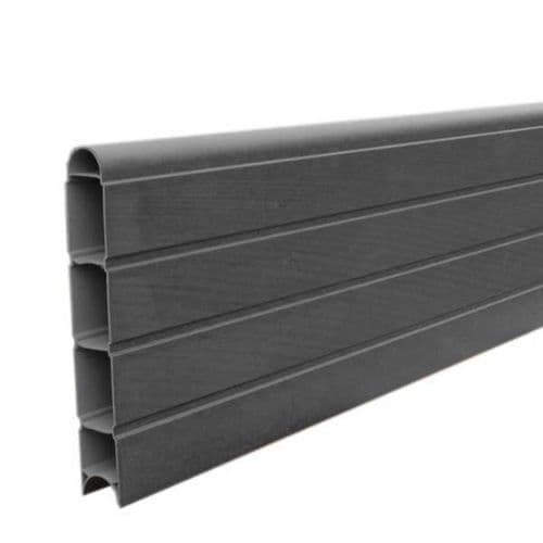 Graphite Eco Fencing Plastic Board