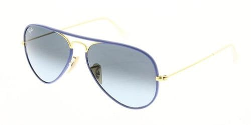 Ray Ban Sunglasses Aviator Full Color RB3025JM 001 4M 58