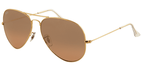 Ray Ban Sunglasses Aviator Large Metal RB3025 001 3E 55