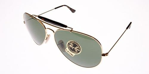 Ray Ban Sunglasses  Outdoorsman II RB3029 181 62