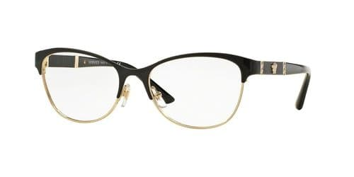 Versace 0VE1233Q 1366 - BLACK/PALE GOLD 53-17-140
