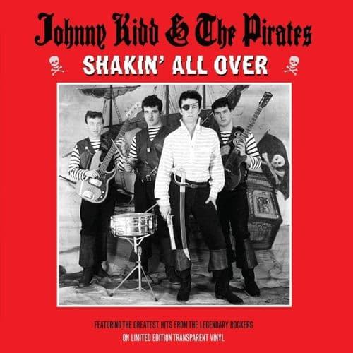 JOHNNY KIDD & THE PIRATES 'Shakin' All Over' LP