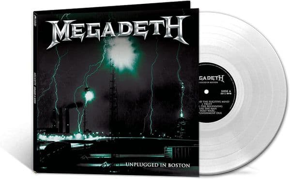 MEGADETH 'UNPLUGGED IN BOSTON' Clear Coloured VINYL LP (2021)