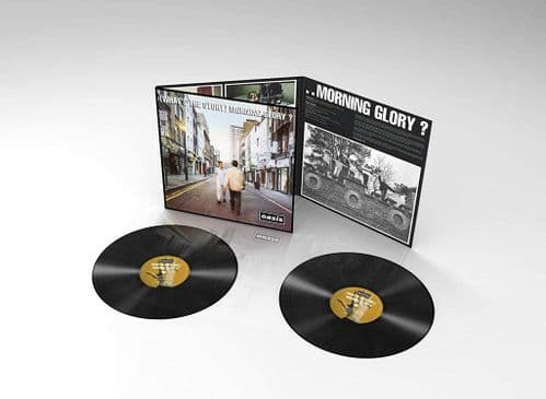 OASIS  'What's The Story Morning Glory?' Double VINYL LP