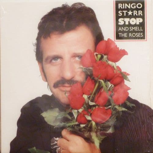 RINGO STARR 'Stop and Smell the Roses' S/H LP