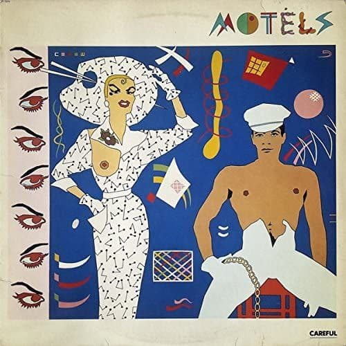 THE MOTELS 'Careful'  Second Hand LP