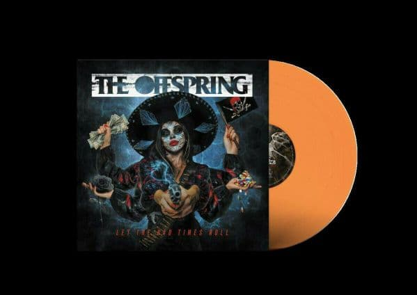 The Offspring 'Let The Bad Times Roll' Indie Exclusive Orange Crush Coloured VINYL LP (2021)