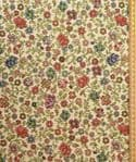 Colourful flowers floral Fabric UK 80% Cotton 20% Poly material upholstered feel - Price Per Metre