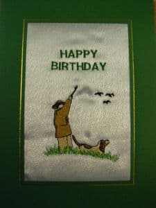 HAPPY BIRTHDAY - Shooting Hunting