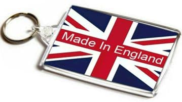 Made In England Jumbo Keyring (Union Jack)